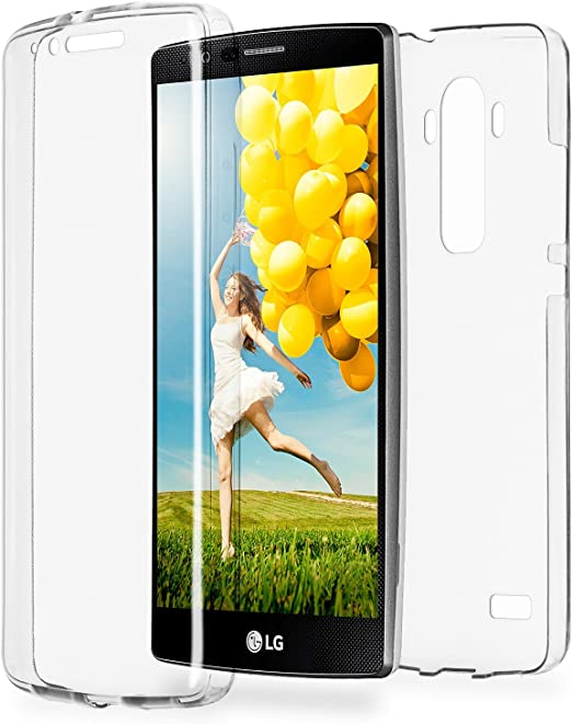 MoEx Funda Protectora 360º de Silicona Compatible con LG G4 ...