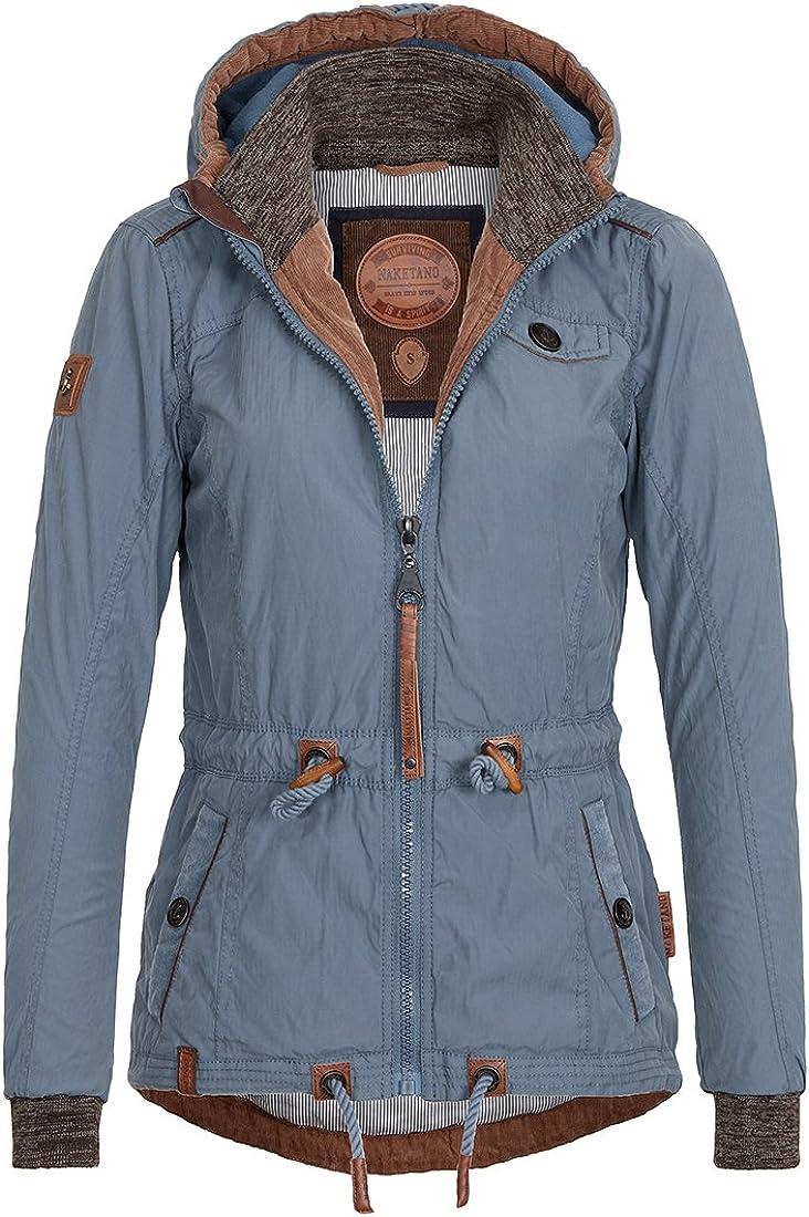 naketano majing sirtyone jacke für damen blau