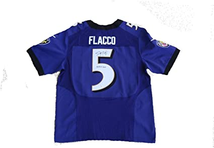 Joe Flacco Signed Baltimore Ravens (SB XLVII MVP) Jersey JSA ...