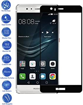 Todotumovil Protector de Pantalla Huawei P9 Plus Negro Completo 3D ...
