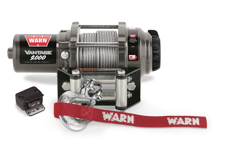 Amazon.com: WARN 89020 Vantage 2000 Winch - 2000 lb. Capacity: Automotive