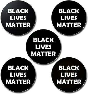 "Black Lives Matter 2.25/"" or 3/"" Pin Back Buttons Political Resistance BLM Pins"