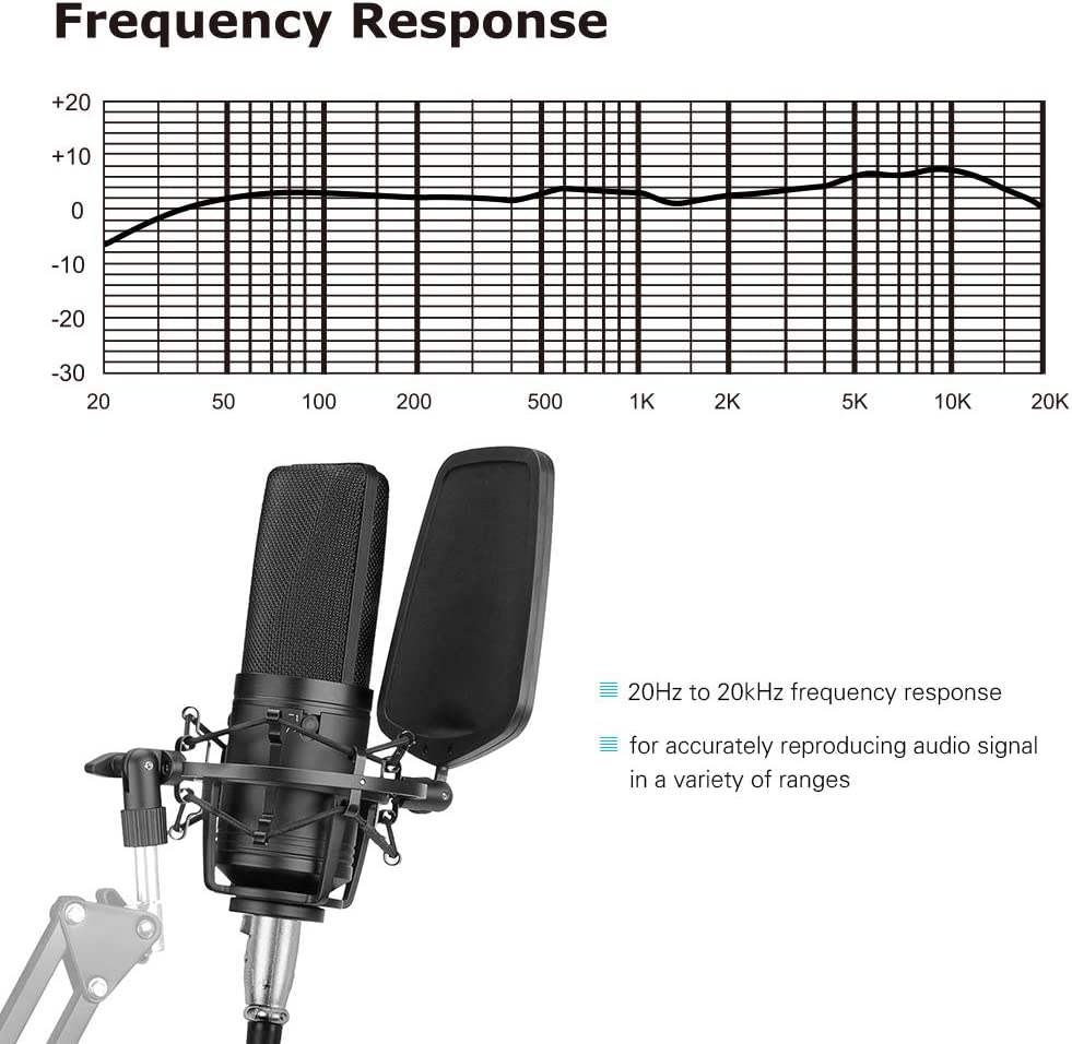 BOYA BY-M1000 Condenser Microphone