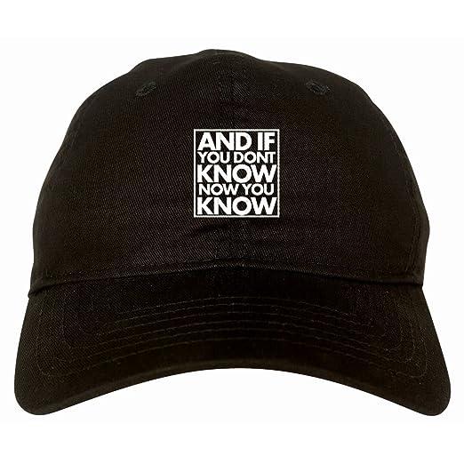4a21a95d029 Kings Of NY And If You Don T Know 6 Panel Twill Unstructured Cap Hat ...