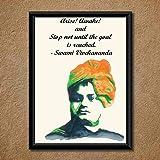 Swami Vivekananda Wall Poster (With Frame)