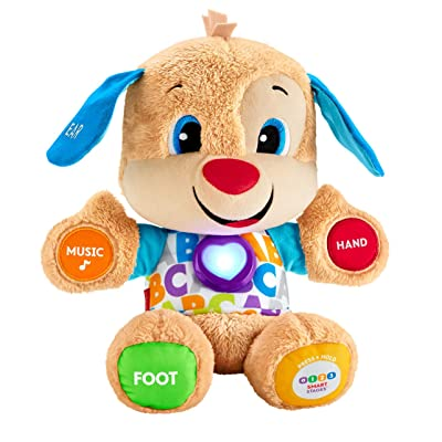 Fisher-Price Laugh & Learn Smart Stages Puppy: Toys & Games