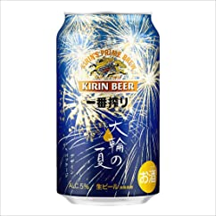 【ビールの新商品】一番搾り 大輪の夏デザインパッケージ 350ml×24本