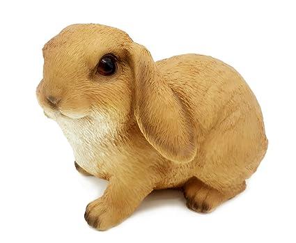 Amazon.com : FICITI G141243 Rabbit Bunny Outdoor Garden Decor Statue ...