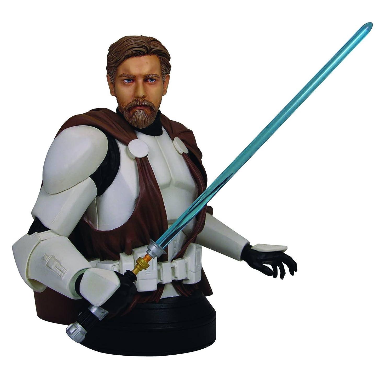 Gentle Giant Studios - Star Wars Buste Obi Wan Kenobi In Clone Trooper Armor 17 Cm