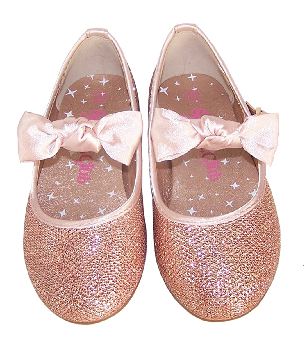 Watch - Lilley Sparkle Girls Pink Flower Party Shoe-20807 video