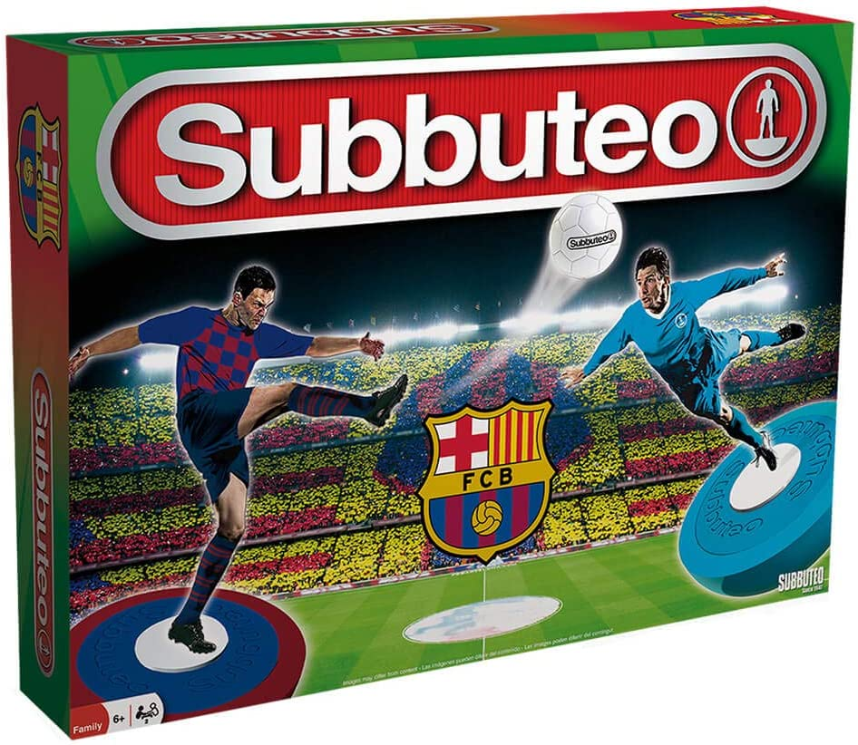 Eleven Force Subbuteo Playset FC Barcelona 2019/20 (13439): Amazon.es: Juguetes y juegos
