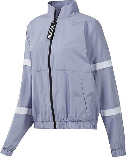 Reebok Wor Myt Woven Jacket Veste Femme, Dendus, L: Amazon