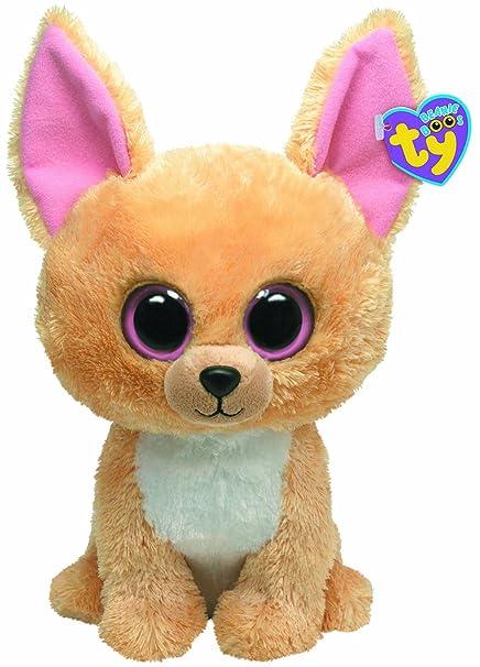 7ce19fd0687 Amazon.com  Ty Beanie Boos Buddy - Nacho the Chihuahua  Toys   Games