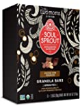 Soul Sprout, by Two Moms Sprouted Granola Bars, Cacao Nib Crunch 6 oz