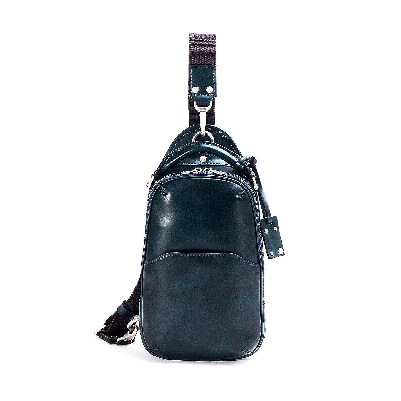 エルゴポック ボディバッグ ワンショルダー Waxed Leather(06 Series) 06-OS B01N6WNIMJ ネイビー ネイビー