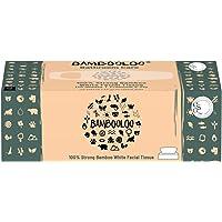 Bambooloo Naturally Sustainable 100% Virgin Bamboo Facial Tissues. 1 individual box.