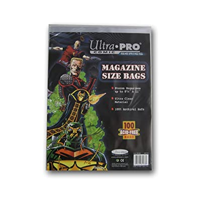 Ultra Pro Magazine Size Bags 8 5/8: Sports & Outdoors