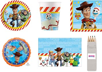 Party Store web by casa dolce casa Toy Story 4 - Juego de Mesa de ...