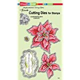 Stampendous Create A Poinsettia Die Cut Set