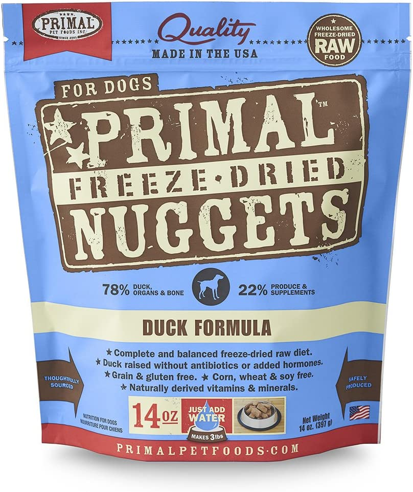 Primal Pet Foods Canine Freeze Dried Duck Formula