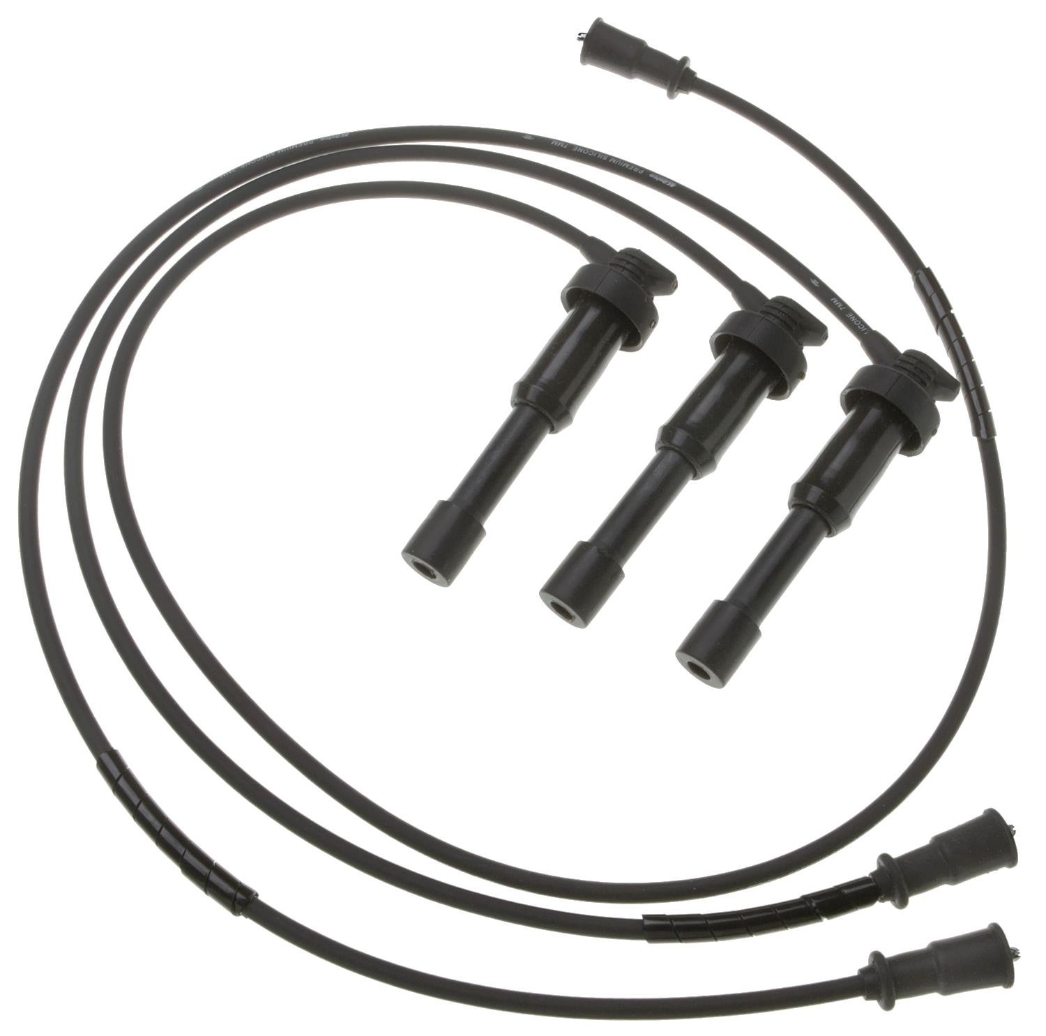 ACDelco 9366R Professional Spark Plug Wire Set 9366R-ACD