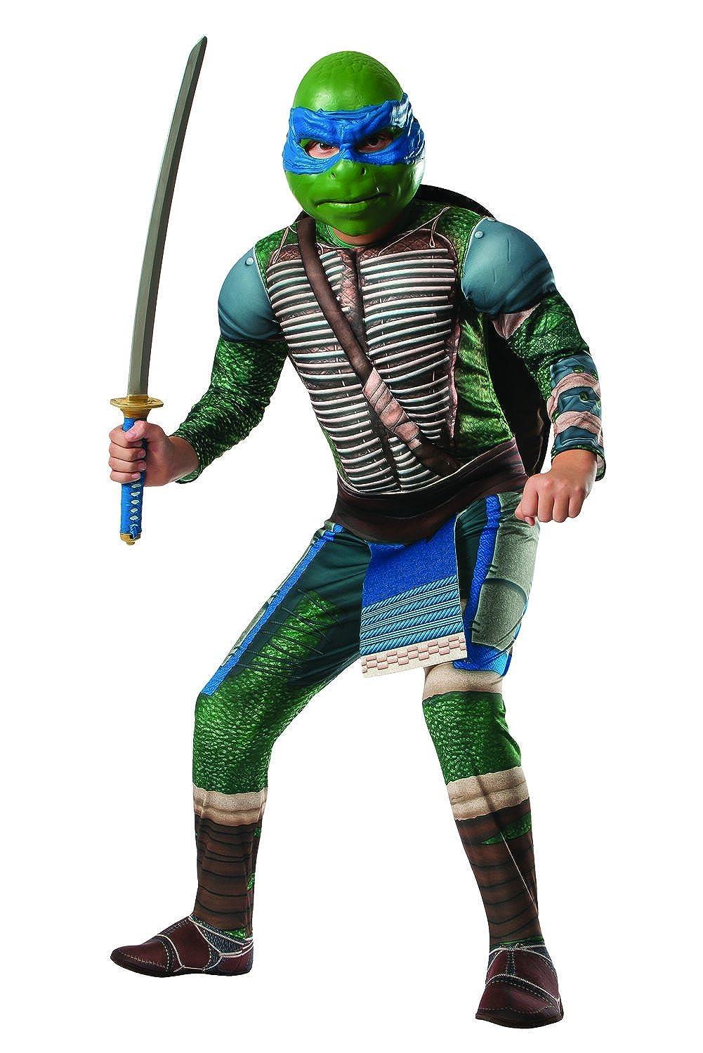 Amazon.com: Deluxe Teenage Mutant Ninja Turtles Costume ...