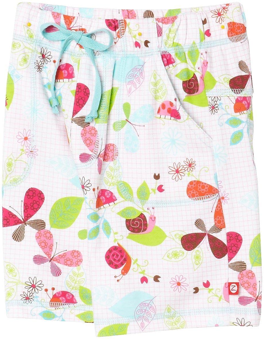 Zutano Little Girls Zutano Butterflies Drawstring Short