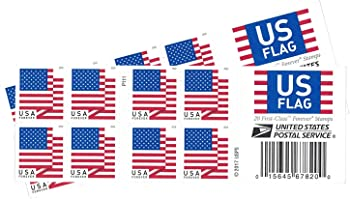 40-Count USPS US Flag 2018 Forever Stamps