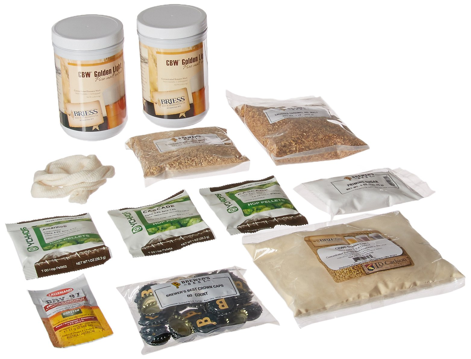 Learn To Brew Learn To Brew India Pale Ale Homebrew Beer Brewing Ingredient Kit