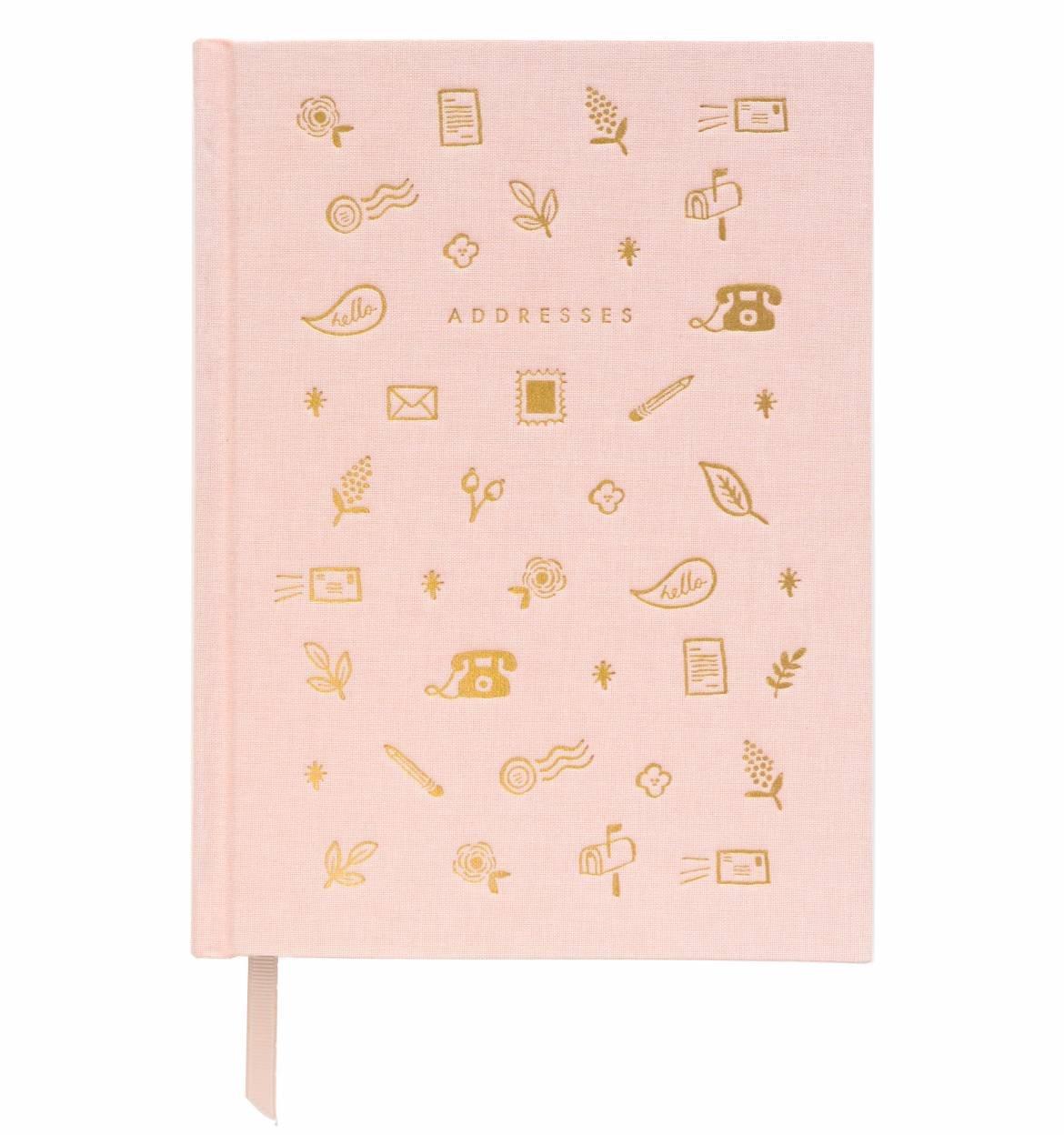 Rifle Paper Co Address Book Keepsake - Blush
