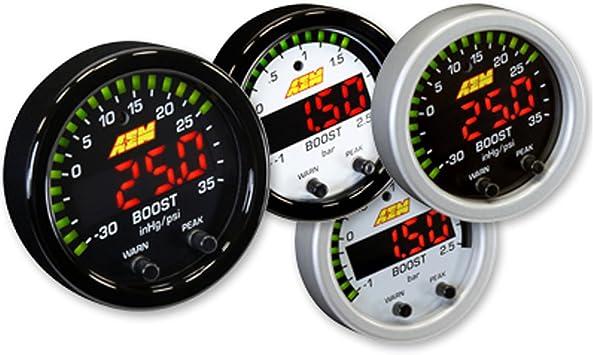 AEM Electronics 30-0306 X-Series Digital Boost Pressure Gauge