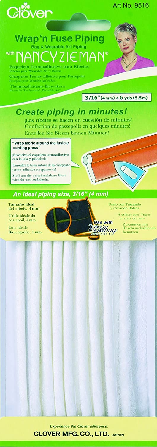 Clover Wrap 'n Fuse with Nancy Zieman Piping 9516