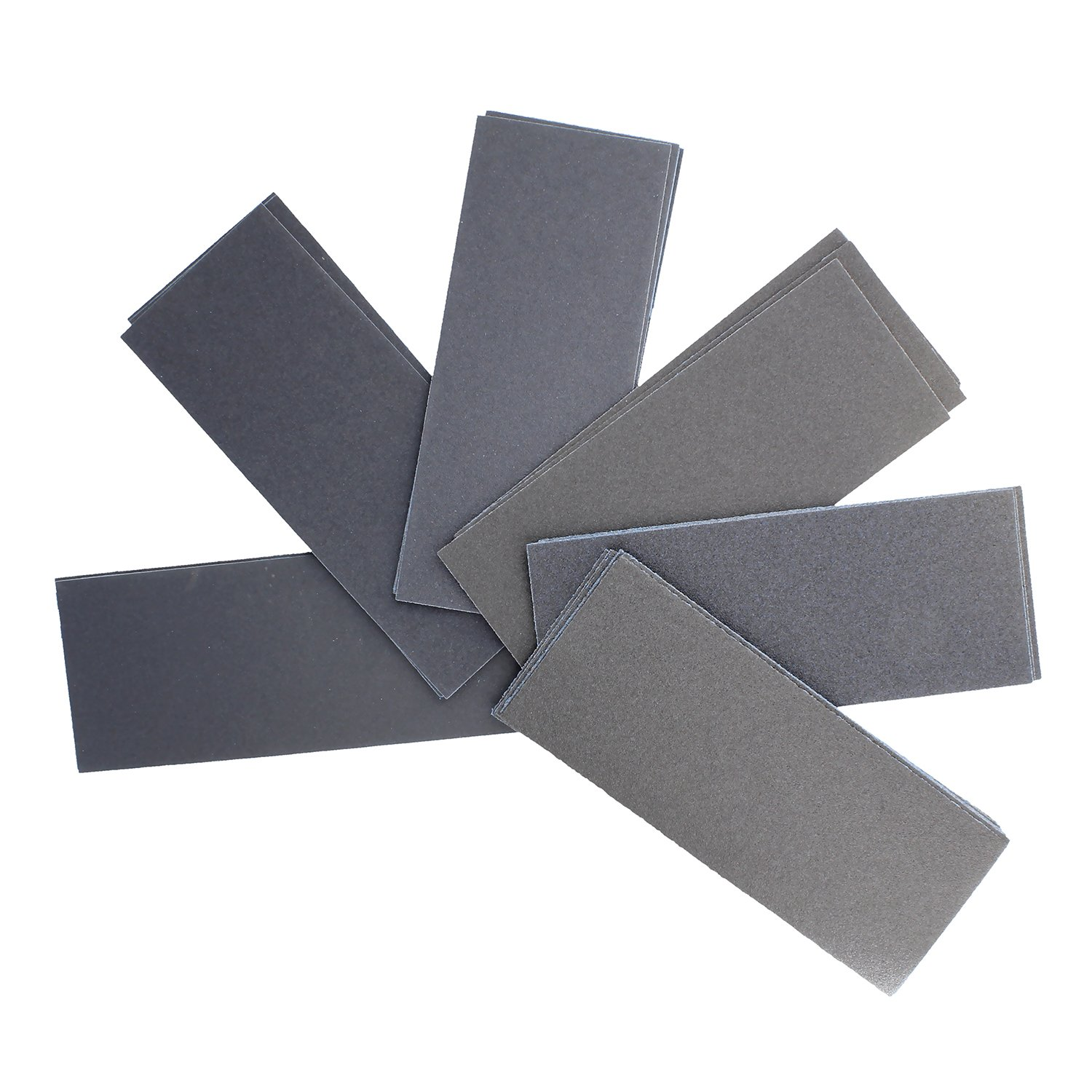 "9/"" x 3.6/"" Inch Sandpaper Sheets Variety Pack ABN/® 80 Grit to 3000 Grit Sandpaper 102pc Wet Dry Sandpaper Assortment"