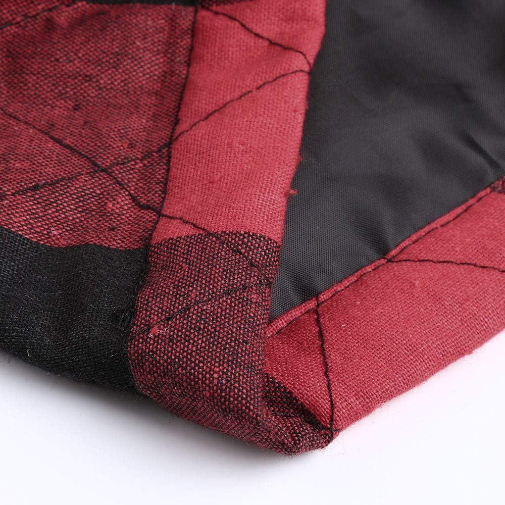 LUDAGED Zipper Vest Women's Plaid Lightweight Zipper Sleeves Jacket Xl