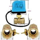 NPT DC 12v motorized ball valve electric ball valve 1/2 3/4 1 1-1/4 inch