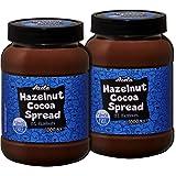 AZELA - Crema untable de cacao y avellana sin aceite de palma (2 unidades de 1 kg)