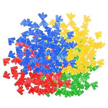 Holzspielzeug 240 × Brettspiel Zähler Spiel Marker Chips Münzen Währung