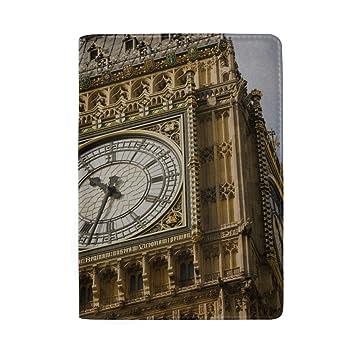 Primer Plano de la Esfera del Reloj Big Ben Bloqueo Estuche ...