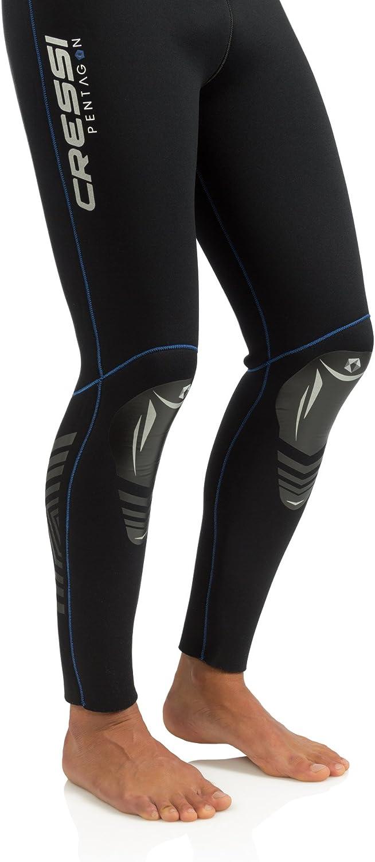 Pentagon 5mm Cressi Mens Full Wetsuit Back-Zip for Scuba Diving /& Water Activities