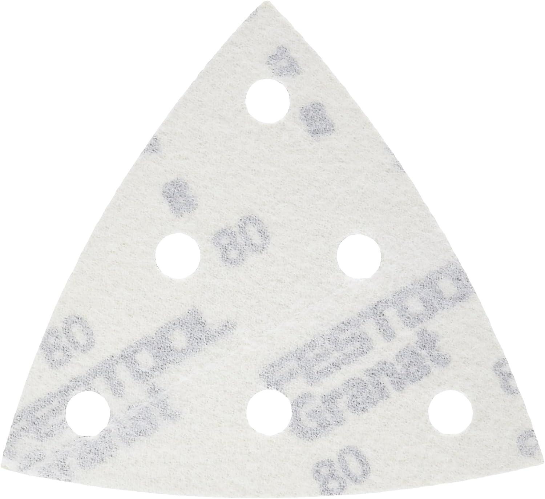 497367 Festool Disque abrasif STF D90//6/P120/Gr Lot de 100/Rubis StickFix pour bois de mat/ériaux