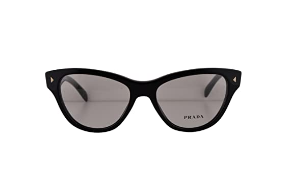 82149674ad56 Image Unavailable. Image not available for. Color  Prada PR23SV Eyeglasses  52-17-140 Shiny Black ...