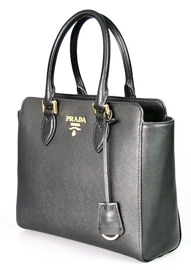 Prada Women s 1BA113 Saffiano Leather Shoulder Bag  Amazon.co.uk  Shoes    Bags ee231b6bdc