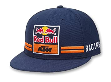 Red Bull KTM Racing Team - Gorra New Era Flatbrim, con cierre abotonado