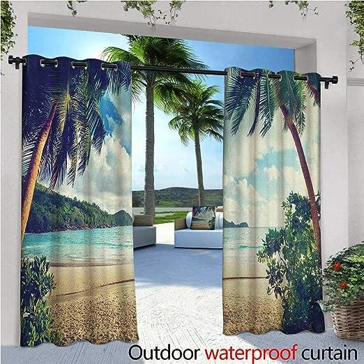 familytaste - Cortinas exteriores y exteriores de hojas de palma ...