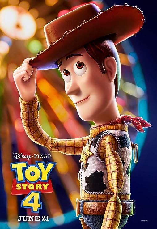 "Disney Toy Story 4 Movie Poster 19"" x 13"""