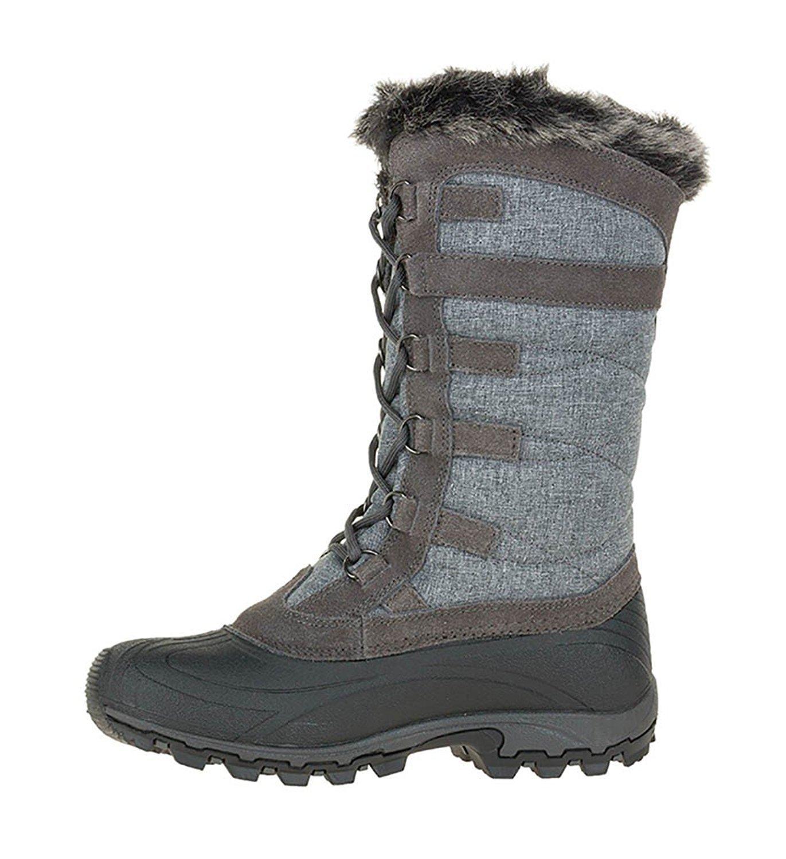 Kamik Women's Snowvalley Boot B(M) B00HSYDMW4 10 B(M) Boot US|Charcoal fad6f8