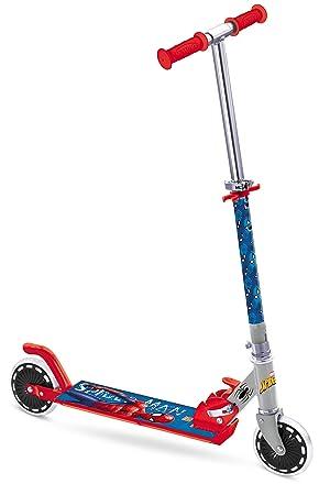 Mondo Toys Spiderman - Patinete de Aluminio con 2 Ruedas 18394
