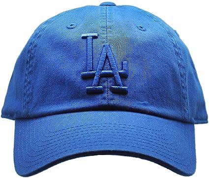 Always A Dodger Girl Custom Unstructured Dad Hat Baseball Cap New-White//Blue