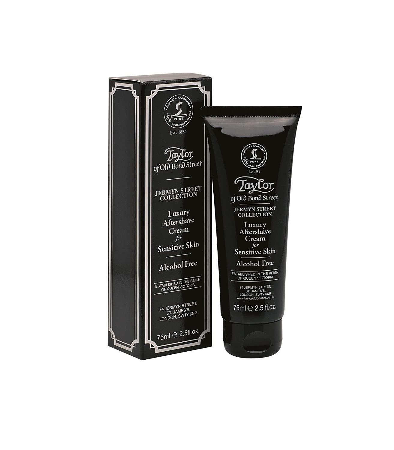 Aftershave Cream Jermyn Street Collection, 75ml - Taylor of Old Bond Street