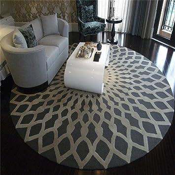 Amazon.de: LYP-Teppiche modernen europäischen Stil Wohnzimmer Runde ...